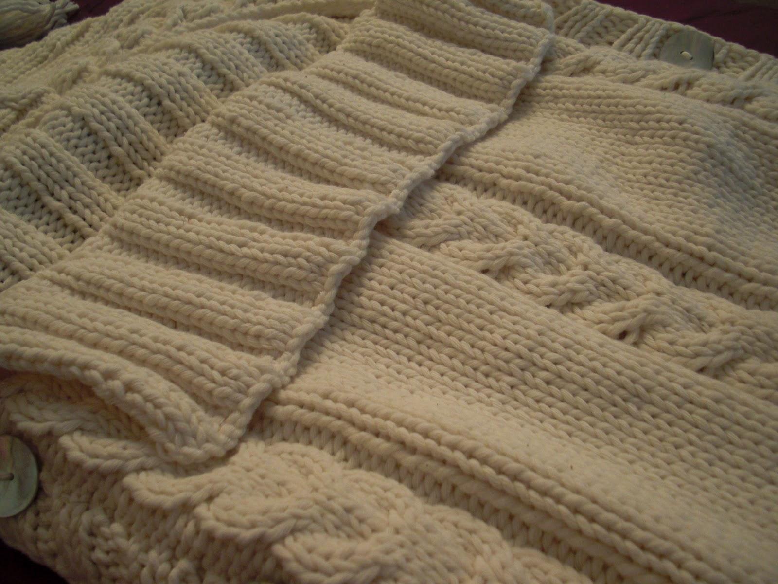 Modele tricot bebe grosse laine - Grosse laine pour couverture ...