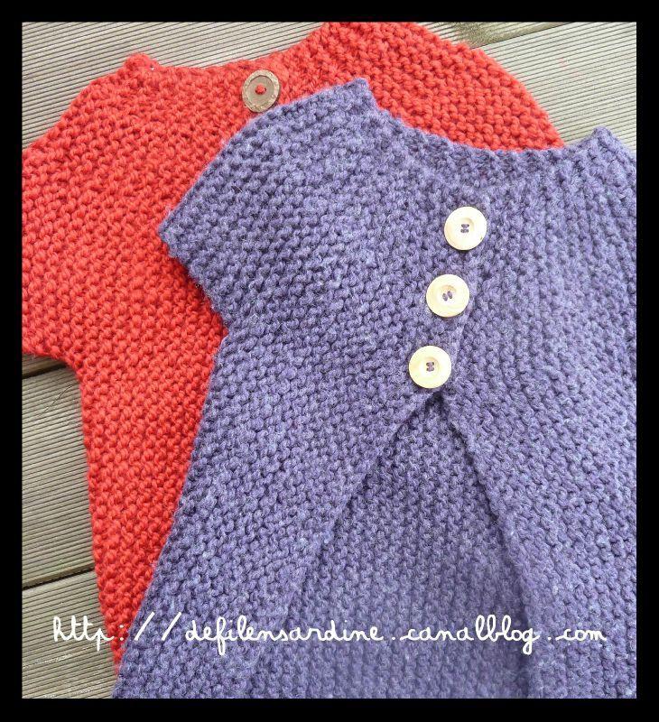 photo tricot modele tricot bebe grosse laine 5. Black Bedroom Furniture Sets. Home Design Ideas