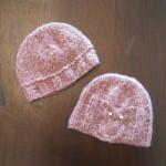 photo tricot modele tricot bonnet bébé naissance 11