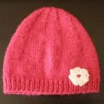 photo tricot modele tricot bonnet bébé naissance 13