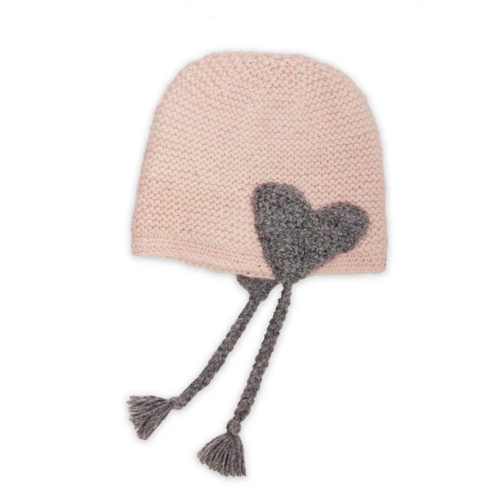 photo tricot modele tricot bonnet bébé naissance 7