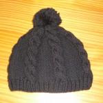 photo tricot modele tricot bonnet femme torsade 9