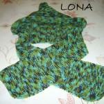 photo tricot modele tricot echarpe a capuche 11