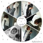 photo tricot modele tricot echarpe a capuche 12