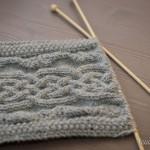 photo tricot modele tricot echarpe a capuche 17