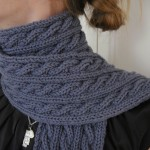 photo tricot modele tricot echarpe adulte 2