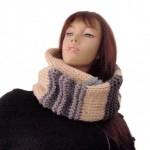 photo tricot modele tricot echarpe adulte 9