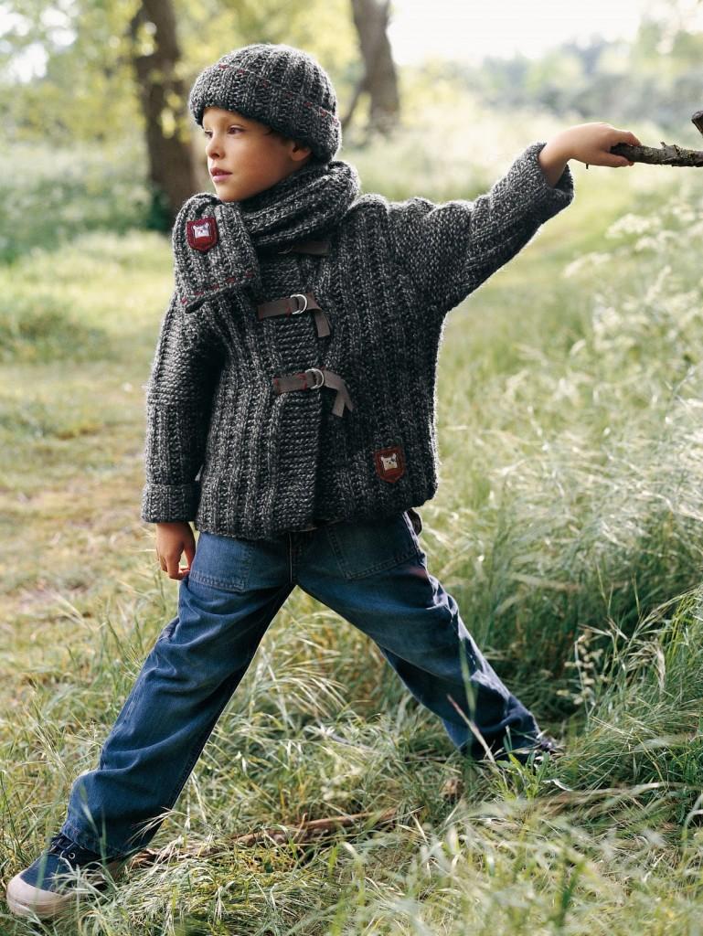photo tricot modele tricot echarpe bonnet 11