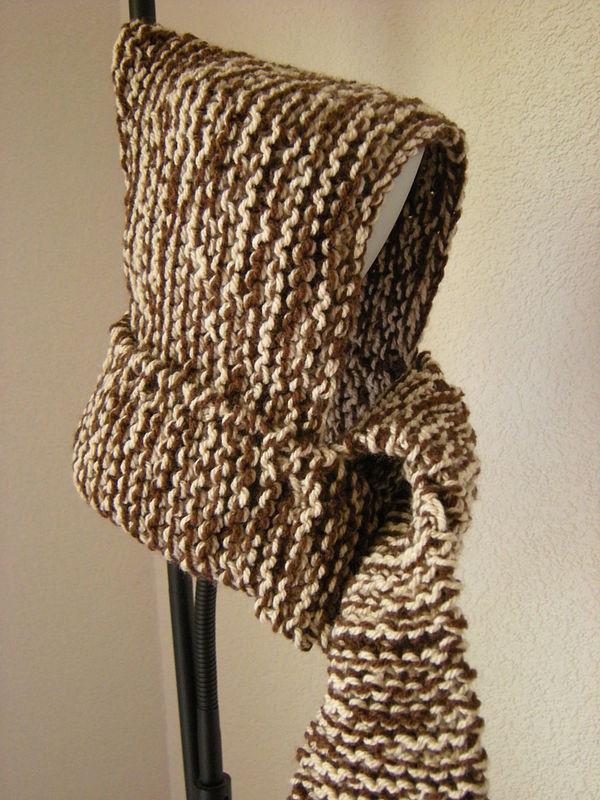 photo tricot modele tricot echarpe bonnet 12
