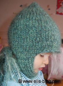 photo tricot modele tricot echarpe bonnet 15