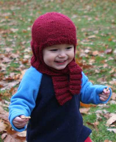 photo tricot modele tricot echarpe bonnet 3