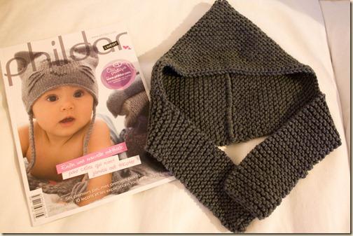 photo tricot modele tricot echarpe bonnet