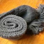 photo tricot modele tricot echarpe facile 11