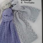 photo tricot modele tricot echarpe facile 14