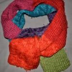 photo tricot modele tricot echarpe facile 17