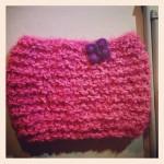 photo tricot modele tricot echarpe facile 18