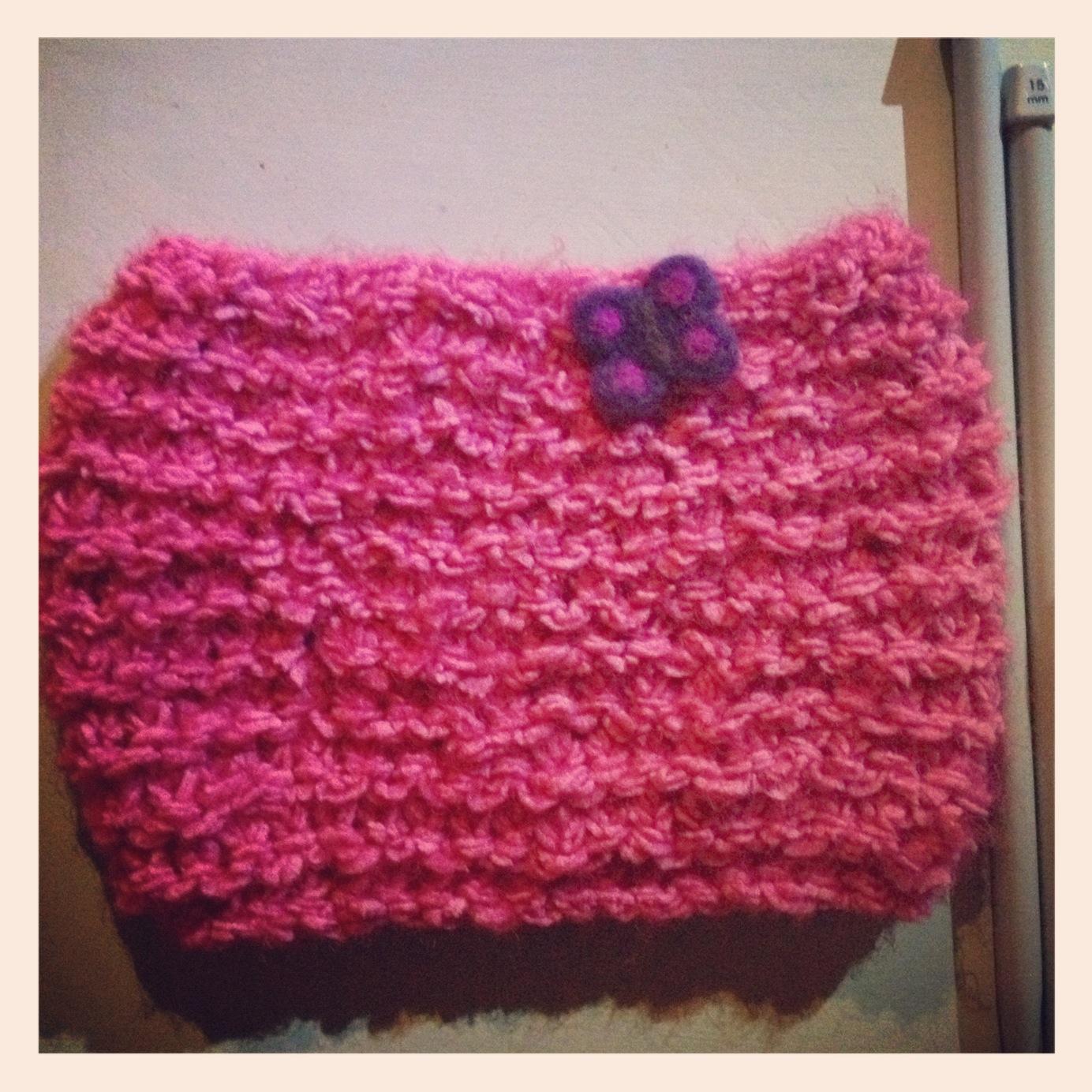 Modele tricot echarpe facile - Modele mitaine tricot facile ...