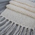 photo tricot modele tricot echarpe facile 5