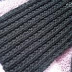 photo tricot modele tricot echarpe facile 6