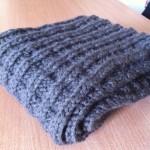 photo tricot modele tricot echarpe facile 8