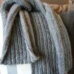 photo tricot modele tricot echarpe moderne 13