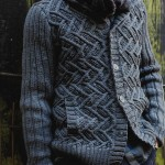 photo tricot modele tricot echarpe moderne 16