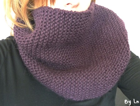 photo tricot modele tricot echarpe moderne 8