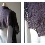photo tricot modele tricot echarpe moderne 9