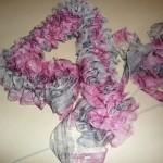photo tricot modele tricot echarpe ruban 11