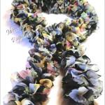 photo tricot modele tricot echarpe ruban 12