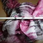 photo tricot modele tricot echarpe ruban 14