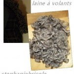 photo tricot modele tricot echarpe ruban 8