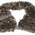 photo tricot modele tricot echarpe ruban 9