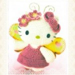 photo tricot modele tricot facile kitty 12