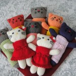 photo tricot modele tricot facile kitty 3