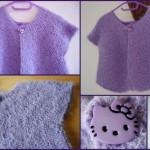 photo tricot modele tricot facile kitty 5