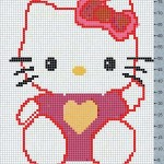 photo tricot modele tricot facile kitty 6