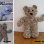 photo tricot modele tricot facile ours 12