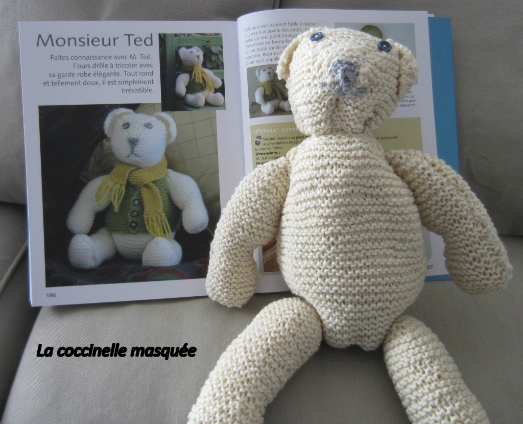 Photo tricot modele tricot facile ours 16 - Modele mitaine tricot facile ...