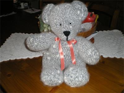 modele tricot ourson