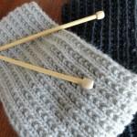 photo tricot modele tricot facile snood 11