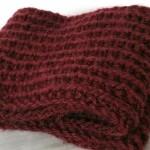 photo tricot modele tricot facile snood 4