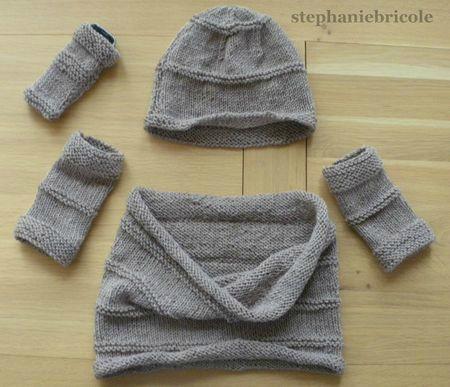 Modele tricot facile tour de cou - Modele mitaine tricot facile ...