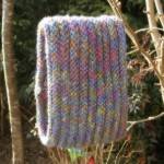 photo tricot modele tricot facile tour de cou 8