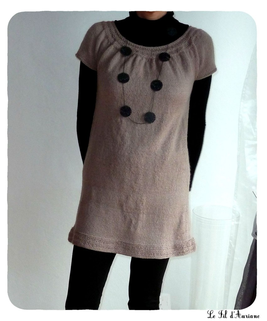 photo tricot modele tricot facile tunique gratuit 10