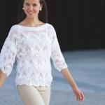 photo tricot modele tricot facile tunique gratuit 17