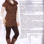 photo tricot modele tricot facile tunique gratuit 3