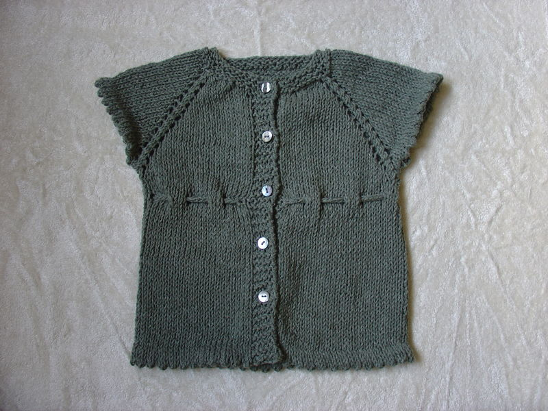 Photo Tricot Modele Tricot Gilet 2 Ans 11