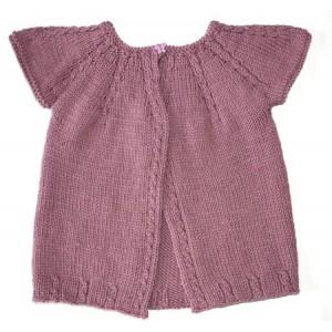 photo tricot modele tricot gilet 2 ans 9