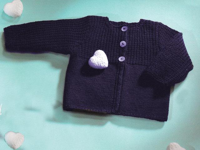 photo tricot modele tricot gilet layette gratuit 12
